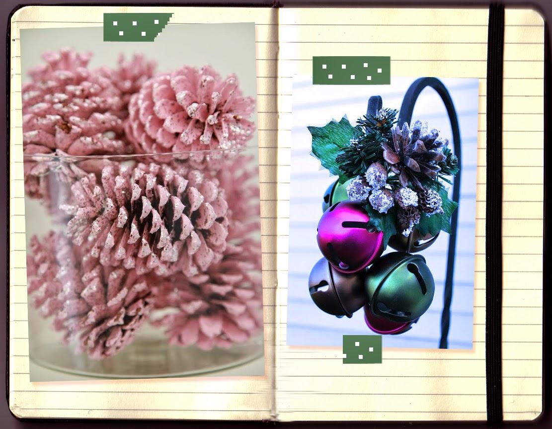 ideas-decoracion-navidad-piñas-botes_de_cristal