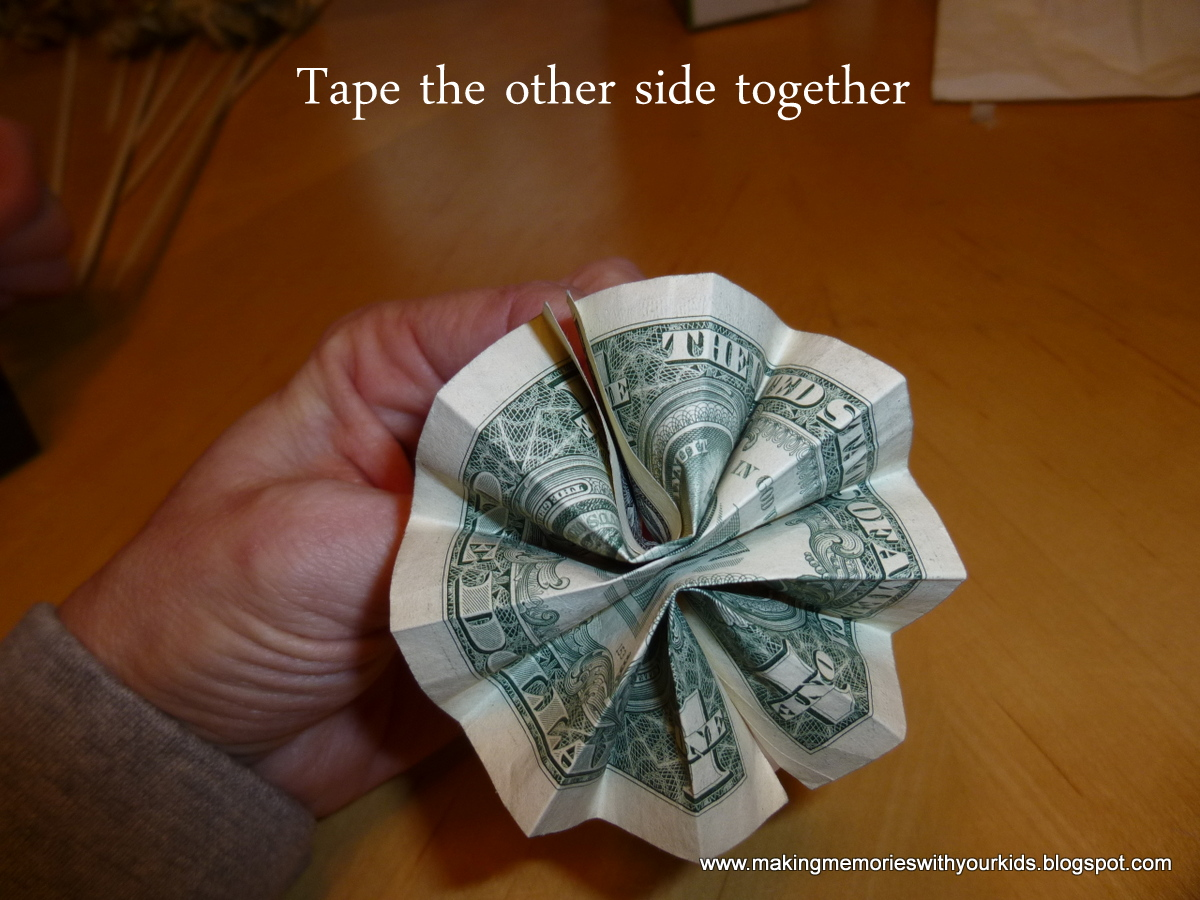 Money Bouquet - Making Memories With Your Kids
