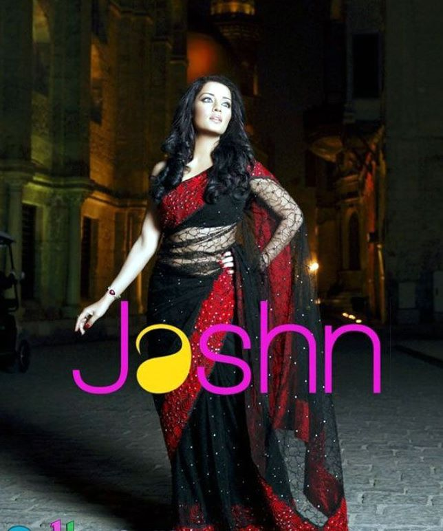 Celina Jaitley Jashn Saree Collection