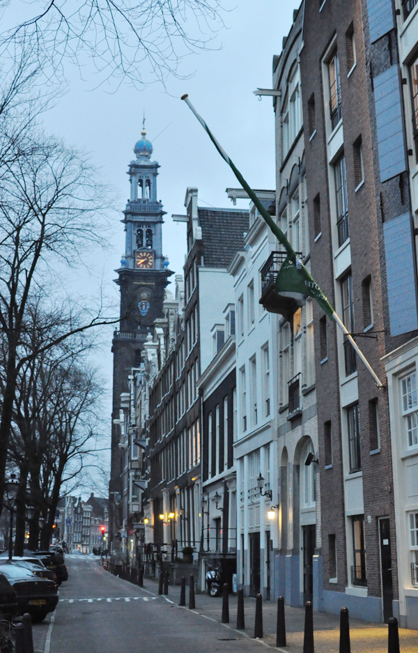 early morning in Amsterdam.