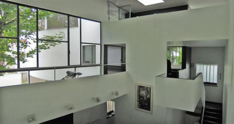 Hablando de arte casa la roche jeanneret le corbusier - Casas de le corbusier ...