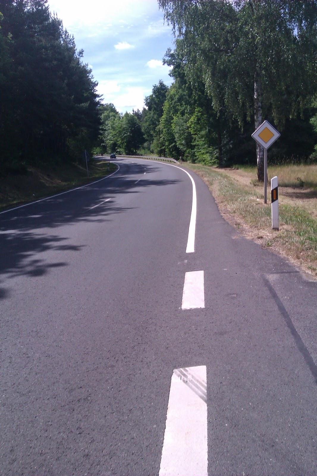 Fahrradweg zwischen Schwarzenbach und Weiden