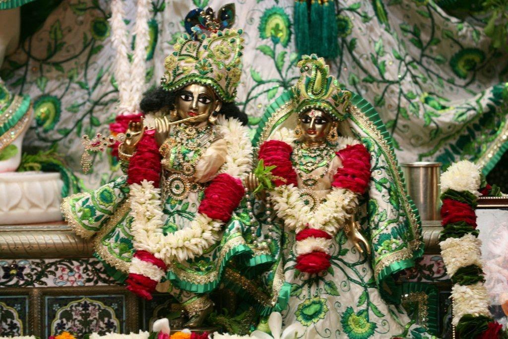 Mulavars of Sri Sri Radha Vrindavana Chandra