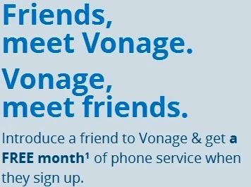 Vonage Refer A Friend