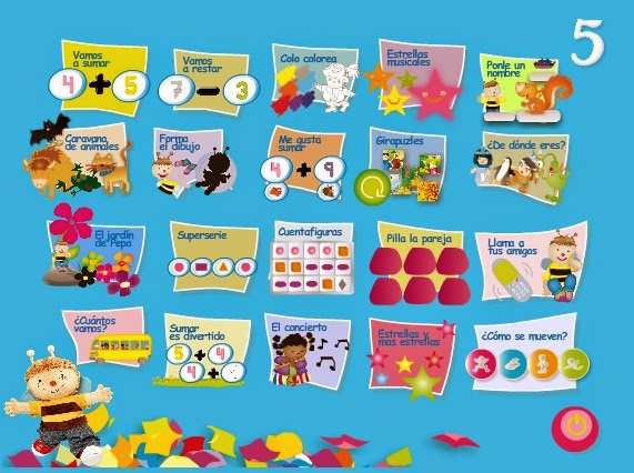 http://primerodecarlos.com/Repaso%20infantil%205%20a%C3%B1os%20PAPELILLOS/papelillos5.html
