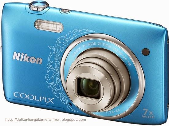 Harga dan Spesifikasi Kamera Nikon Coolpix S3500