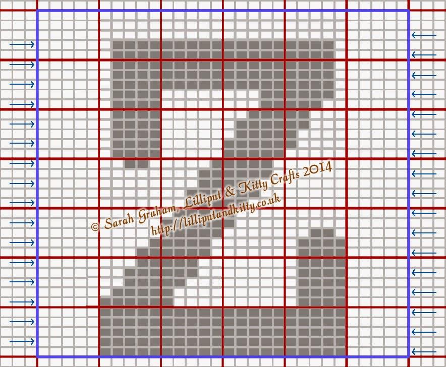 Knitting Letters Chart : Capital i g komberse pinterest knitting