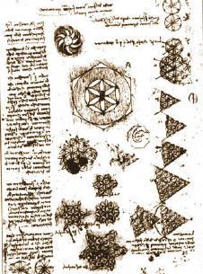 Flower of Life, Da Vinci