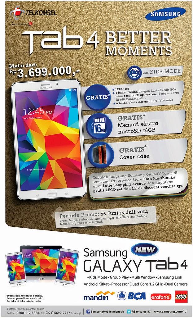 Samsung Galaxy Tab 4 Promo