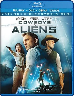 Cowboys & Aliens EXTENDED (2011) 720p BRRip 1.4GB mkv Dual Audio AC3 5.1 ch