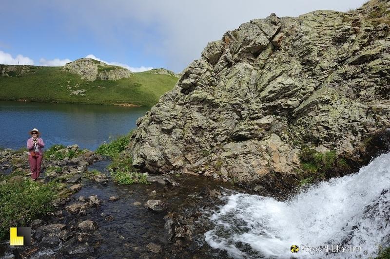 valérie blachier entre lac noir et lac besson photo pascal blachier