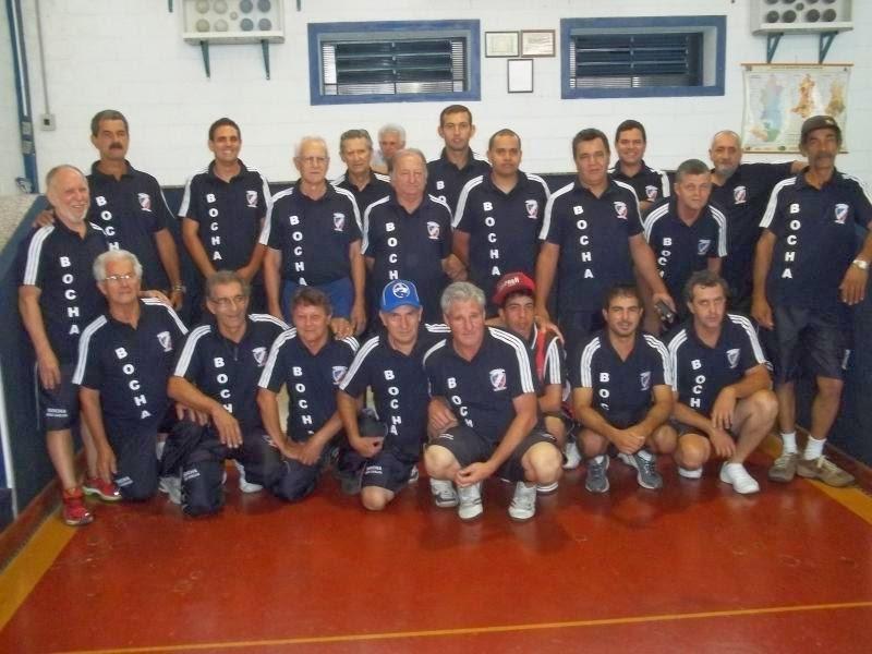 O Técnico Perea e a Seleção de Bocha de São Carlos