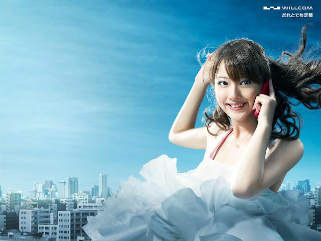 佐々木希 Sasaki Nozomi Willcom Wallpaper HD