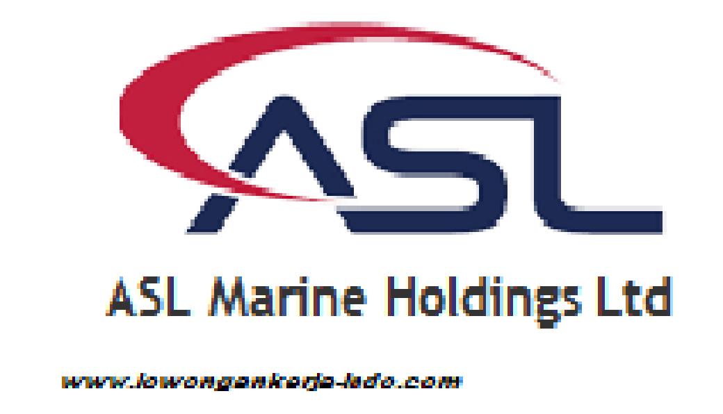 Galangan Kapal PT ASL Merine