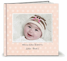 Ellie's 6 month photo book