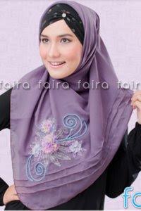 Faira Jilbab BA 379 - Ungu Anggur (Toko Jilbab dan Busana Muslimah Terbaru)