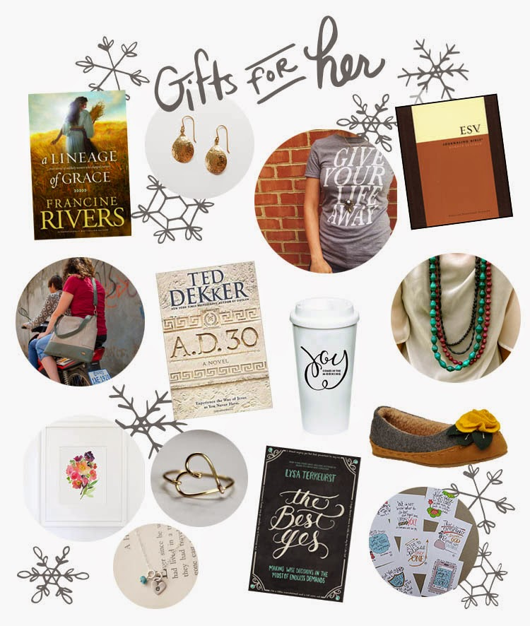 Favorite Christmas gift ideas for her: 2014 - Marydean Draws