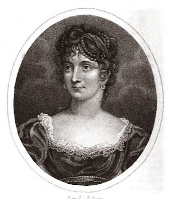 Lady Byron, from The Ladies' Monthly Museum (1816)