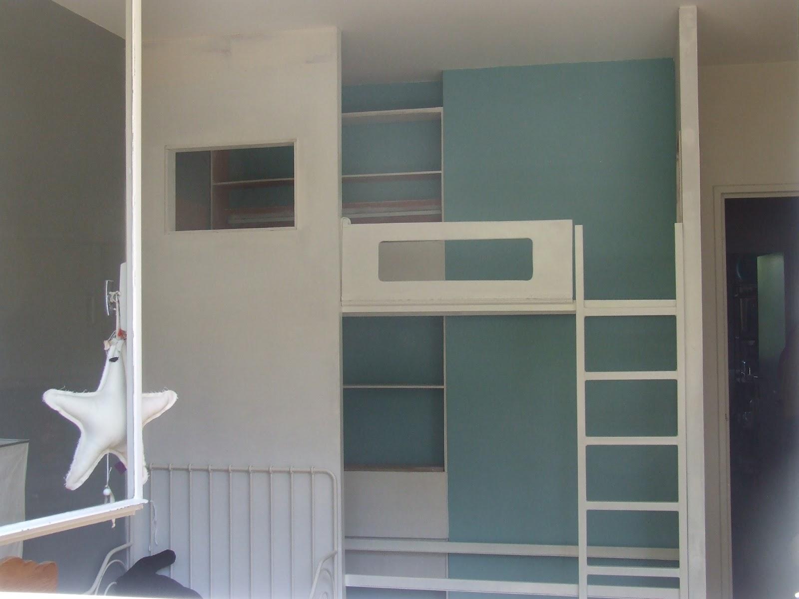 lit cabane sur mesure meudon 92 ferronnerie le fur. Black Bedroom Furniture Sets. Home Design Ideas