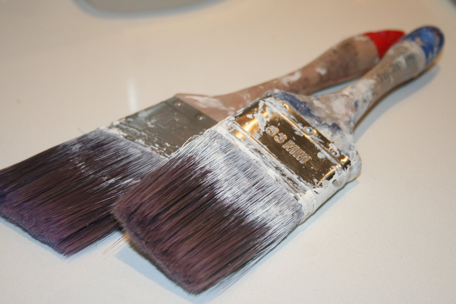 How to clean paintbrushes - How To Clean Your Paint Brushes With Vingear Diy Tips From Lilyfield Life