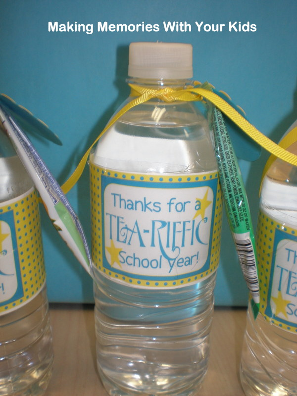 Thanks for a Tea-riffic School Year {Teacher Appreciation ...
