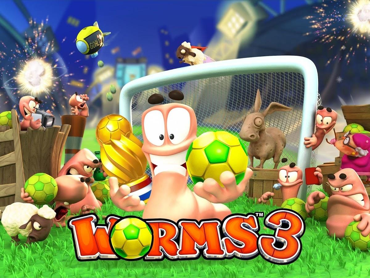 Worms 3 1.80 Apk+Data Full Unlocked
