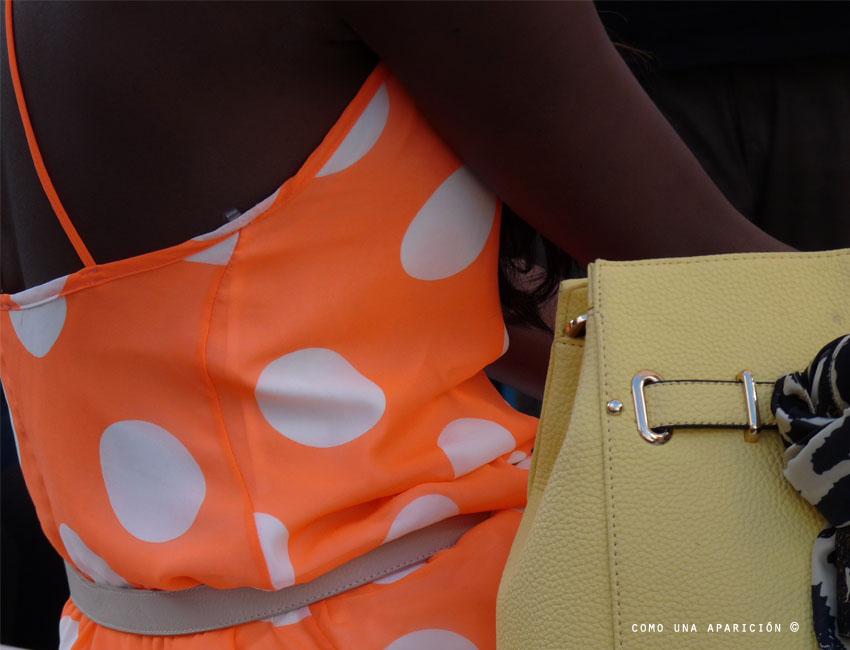 color-tangerine-dots-green-lime-bag-street-style-moda-colombia-medellín-como-una-aparición