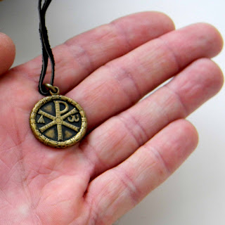 Купить кулон хризма, ранние христианские символы Симферополь