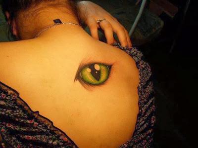 Imagens de Tatuagens Femininas de Olho