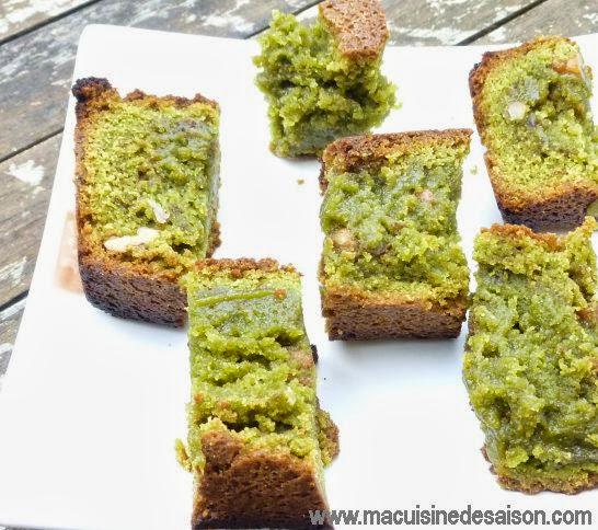 Recette du cake au thé Matcha