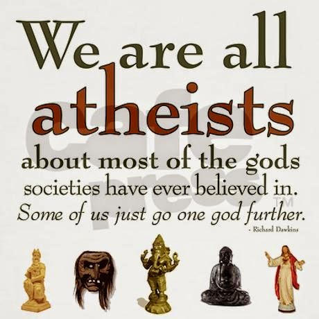 Dawkins All Atheists Quote Picture