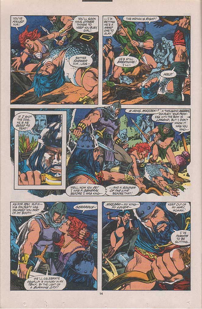 Conan the Barbarian (1970) Issue #262 #274 - English 9