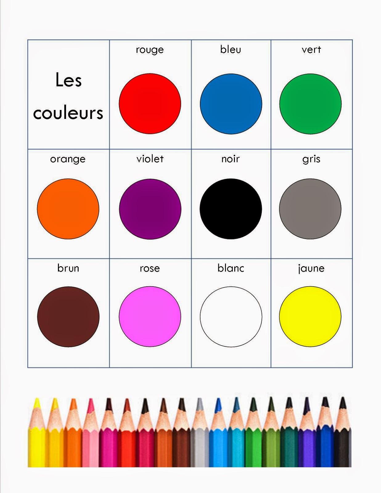 le blogue pr scolaire de georges p vanier je pratique apprendre mes couleurs. Black Bedroom Furniture Sets. Home Design Ideas