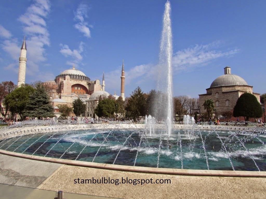 фонтан у Святой Софии