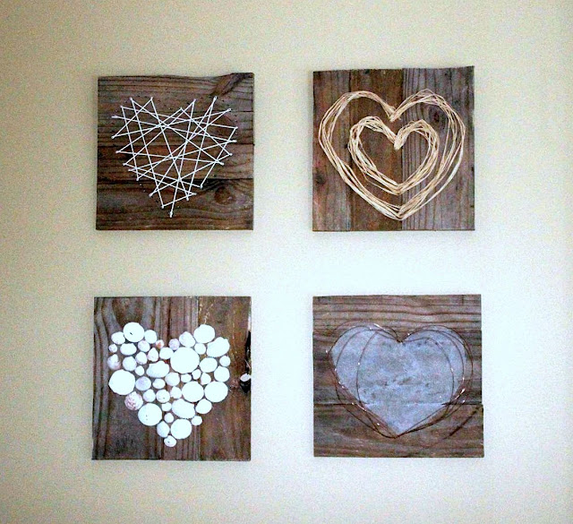 Paper-heart-art-by-Renew-Create-Restore-featured-on-Funky-Junk-Interiors