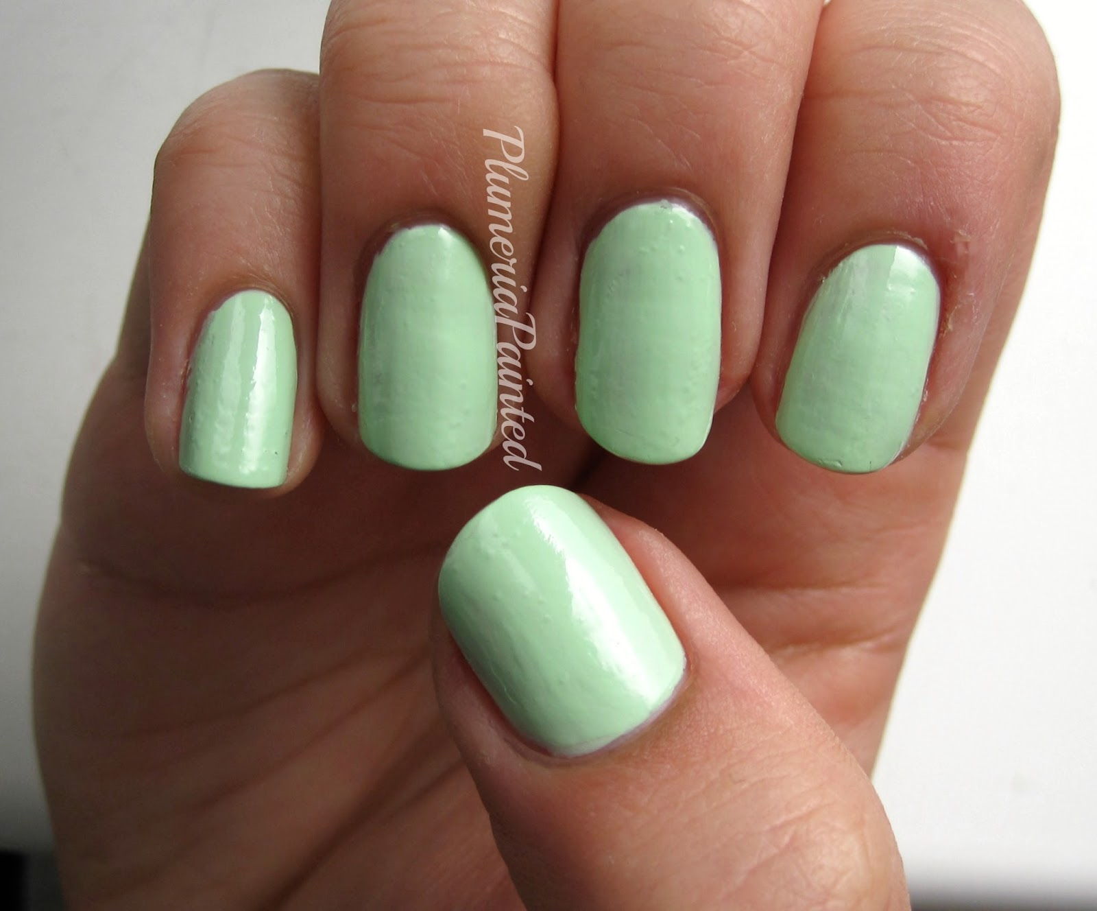 PlumeriaPainted: Green Nails: Barry M - Pole Position