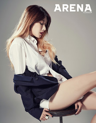 Hyuna Nine Muses Arena Homme Plus December 2015