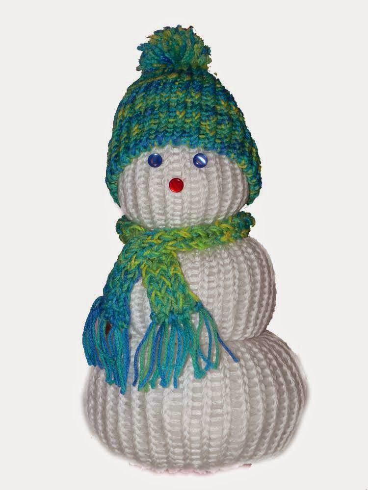 Knifty Knitter Snowman Pattern