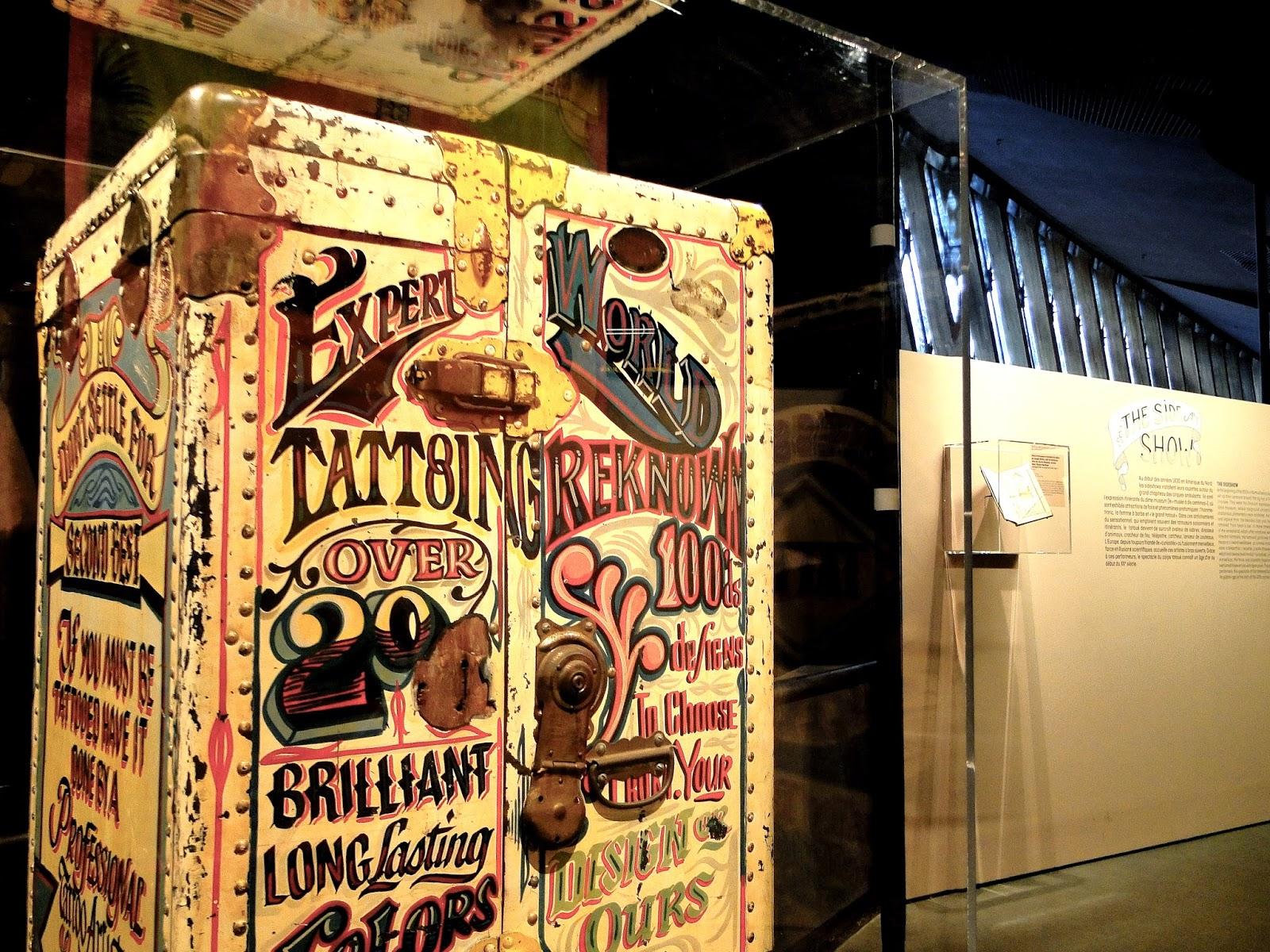 musée du quai Branly Visite de l'exposition Tatoueurs  - Musée Quai Branly Expo Tatouage