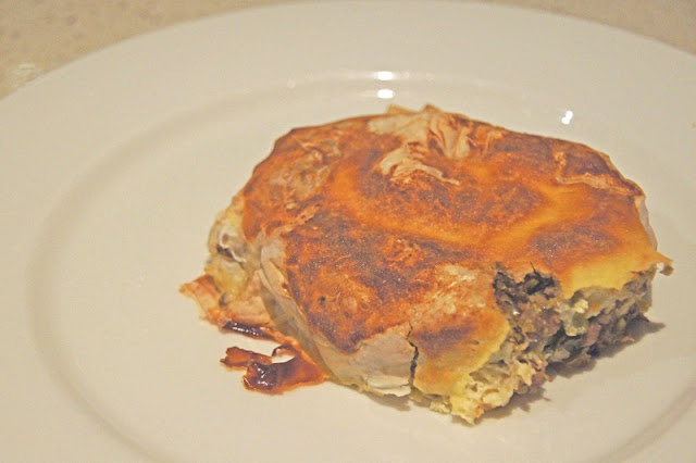 DSC09125 - The healthy meat pie to cheer on the Aussie's...