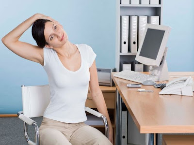 Yogas to Do at Office for Neck And Shoulder
