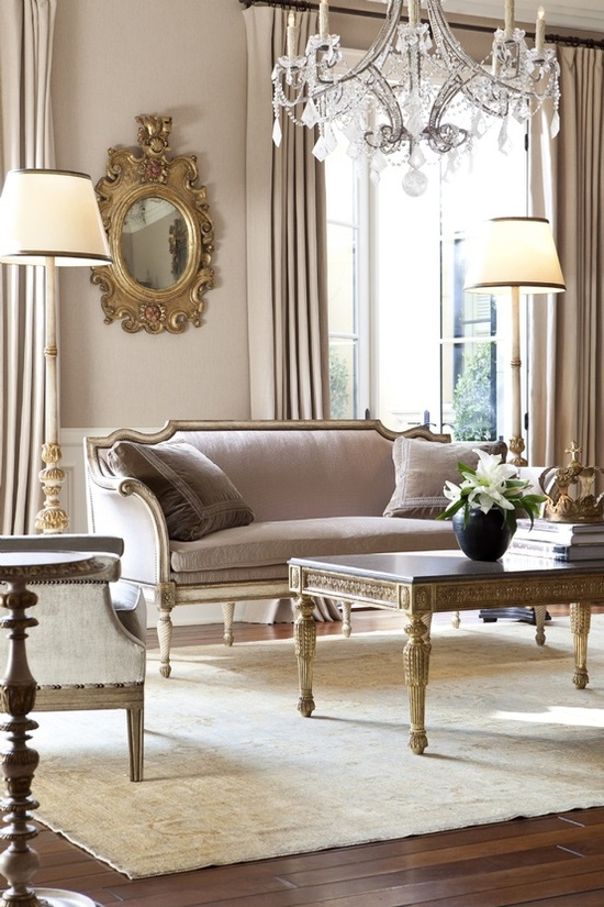 Eye for design decorating parisian chic style for French chic living room