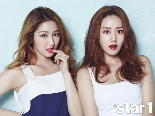 4minute Jihyun and Gayoon