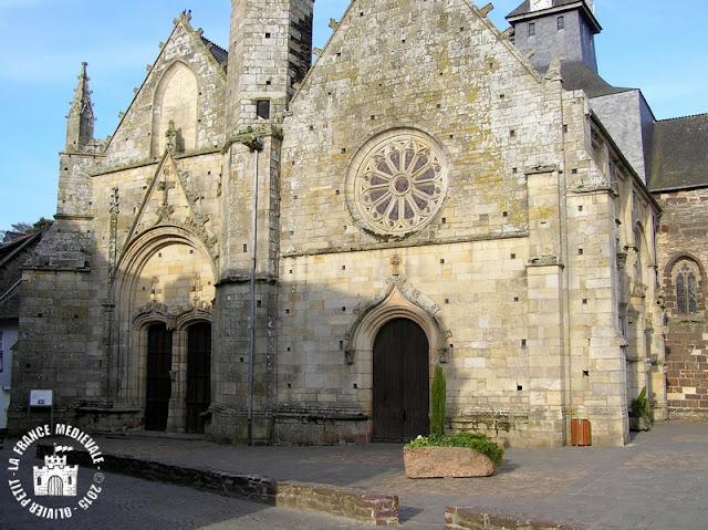 MALESTROIT (56) - Eglise Saint-Gilles (Extérieur)