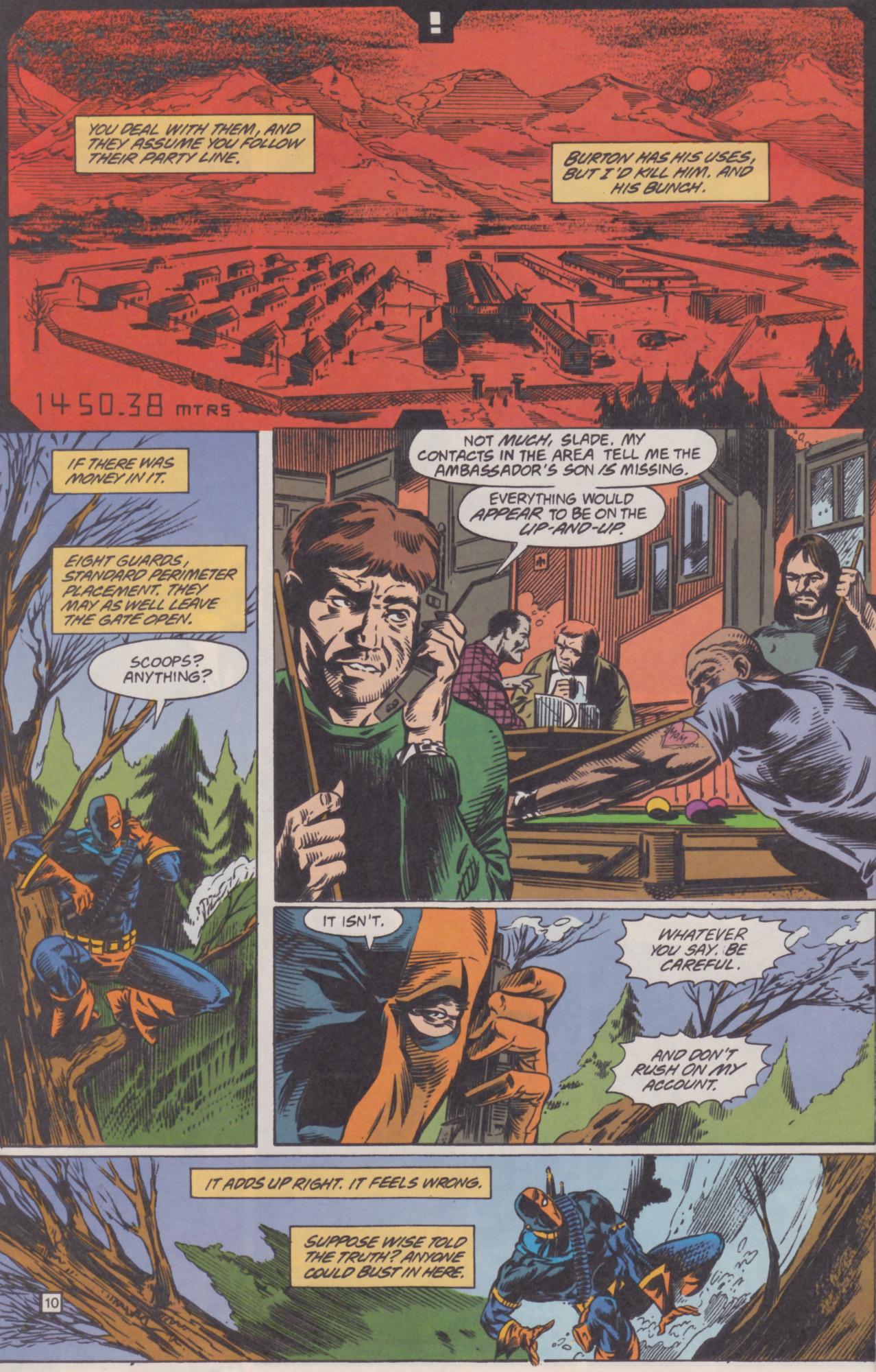 Deathstroke (1991) Issue #22 #27 - English 11