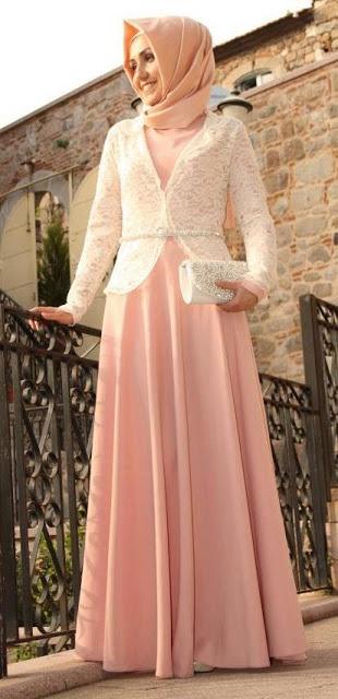 Semoga Contoh Gambar Baju Gamis Muslimah Terbaru Diatas