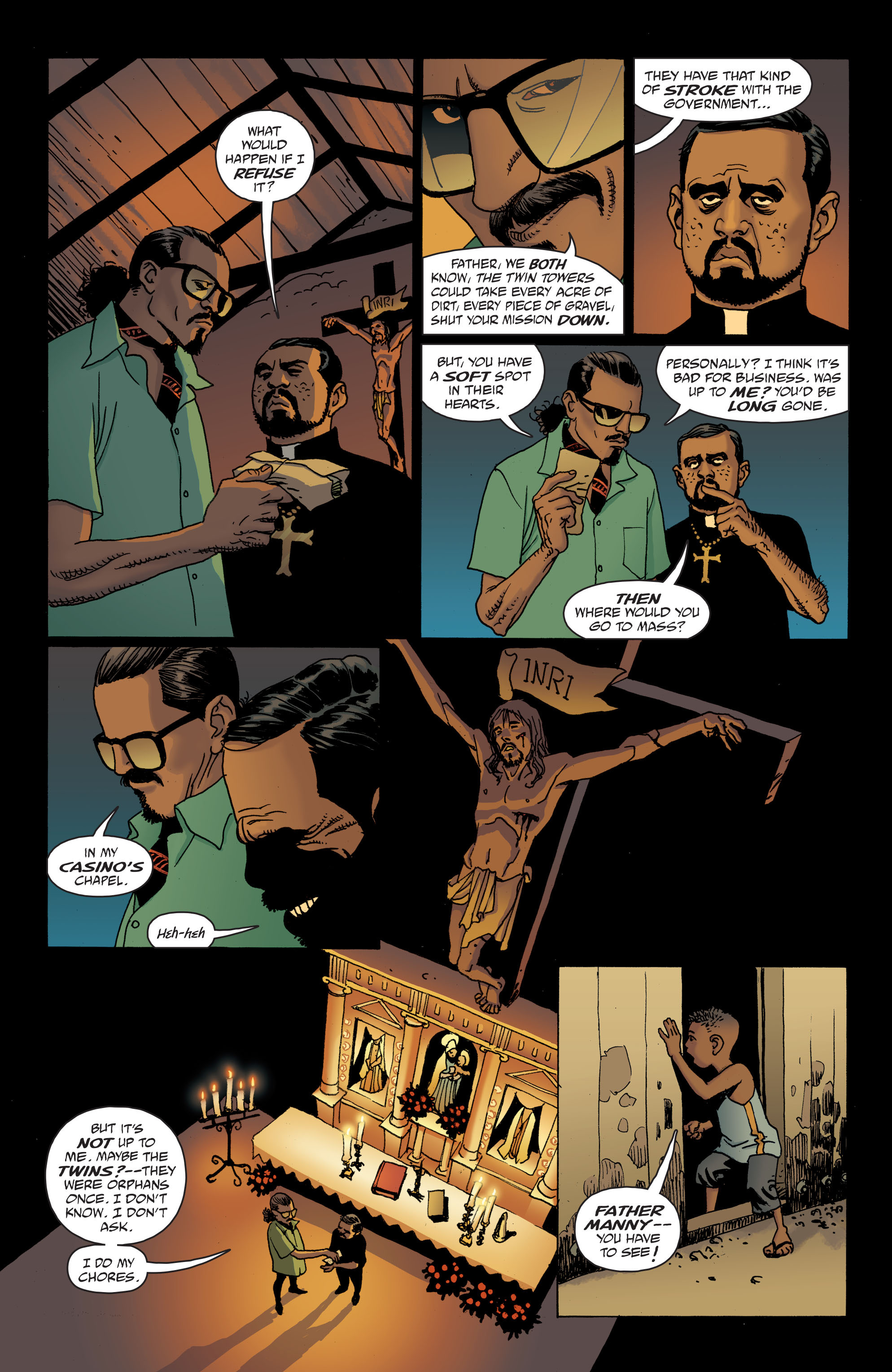 100 Bullets: Brother Lono Full Page 17