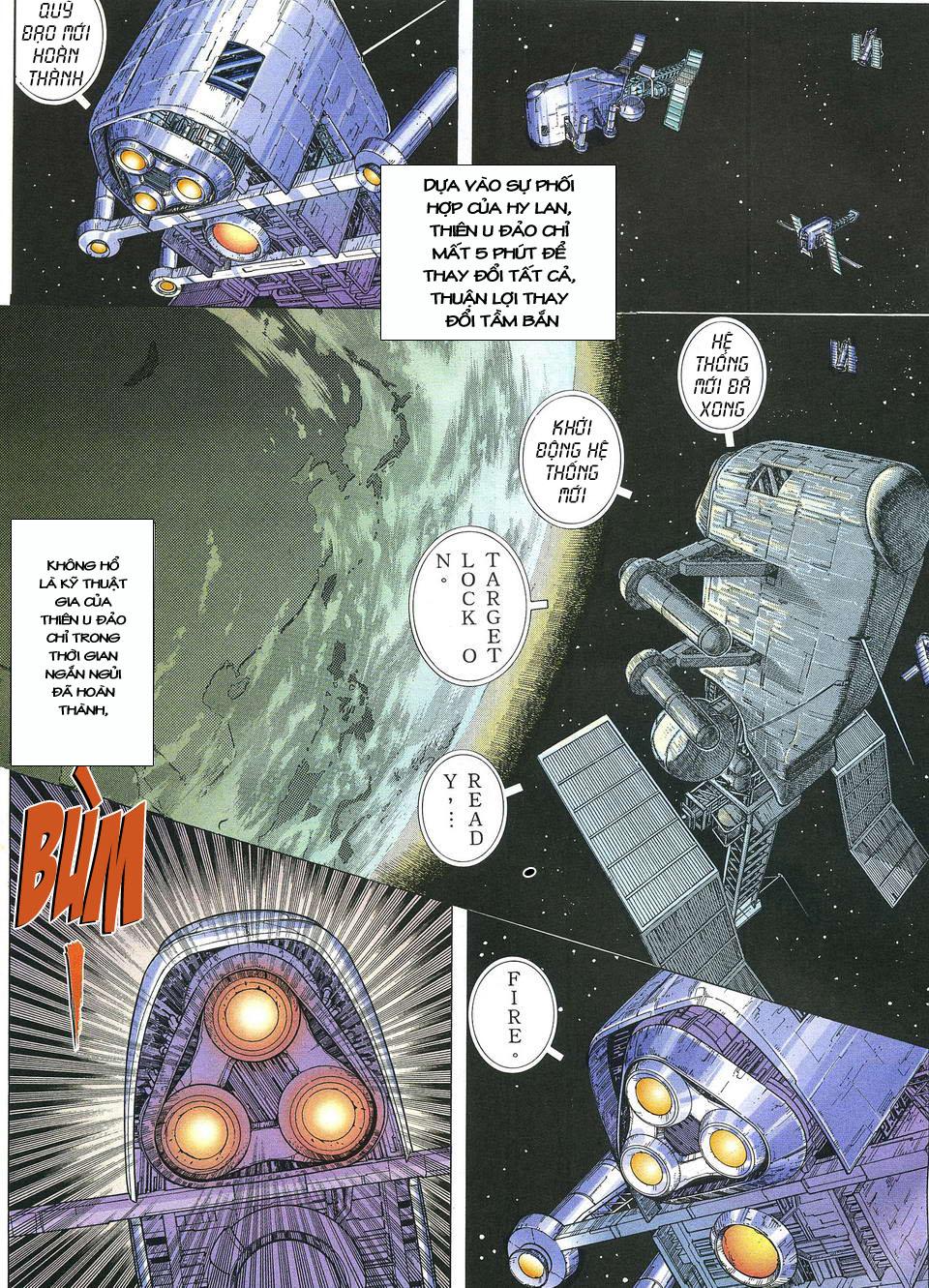 Phong Lôi chap 39 - Trang 17