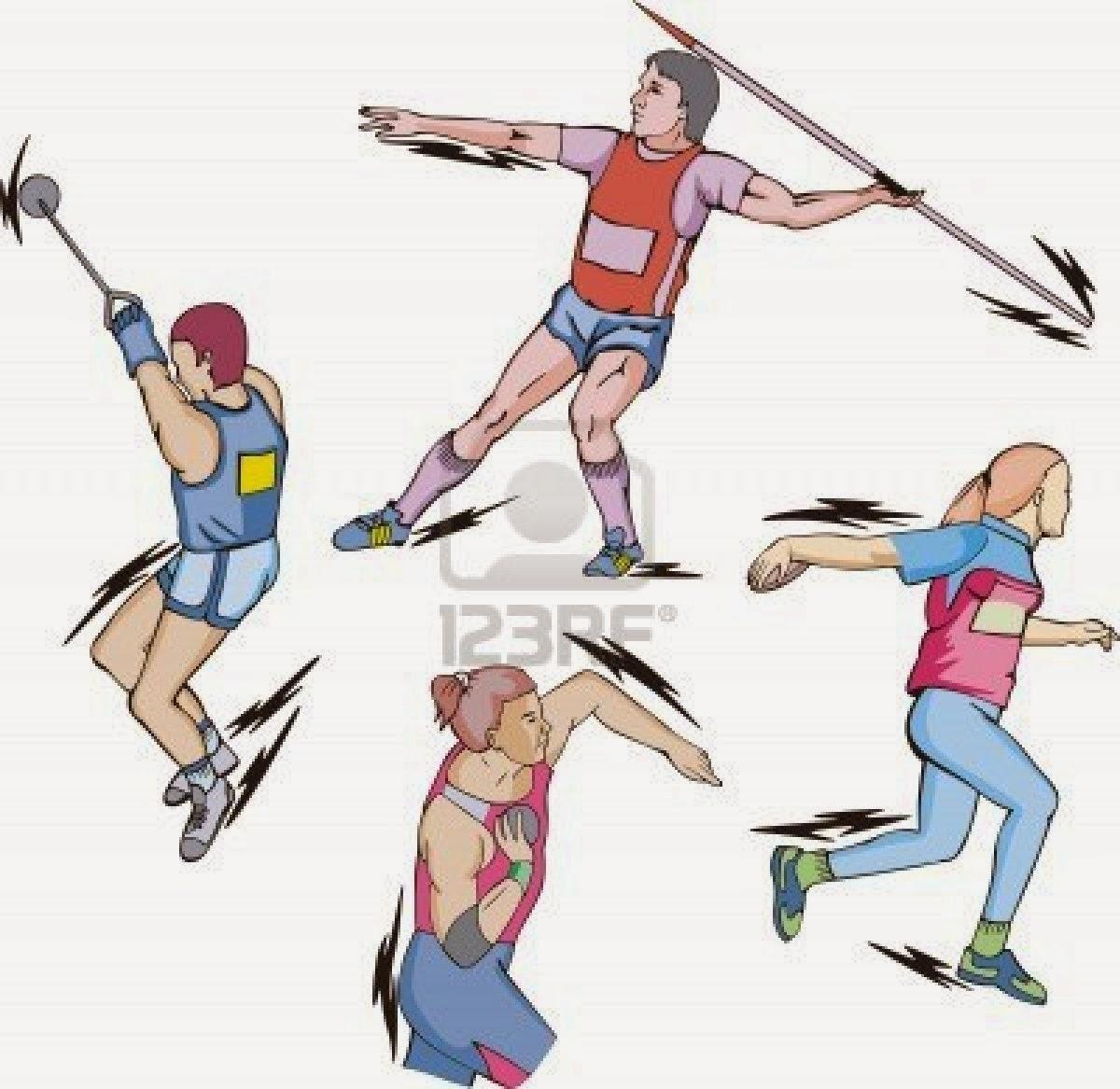 lanzamiento atletismo: