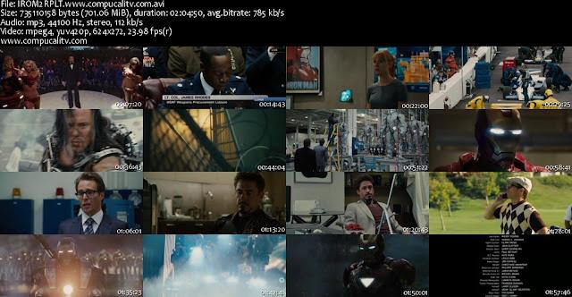Iron Man 2 DVDRip Español Latino Descargar 1 Link